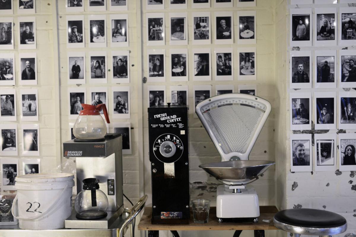 Pyramid Club Offsite Project 14 - Chris Schmelz: Caffenol Cafe