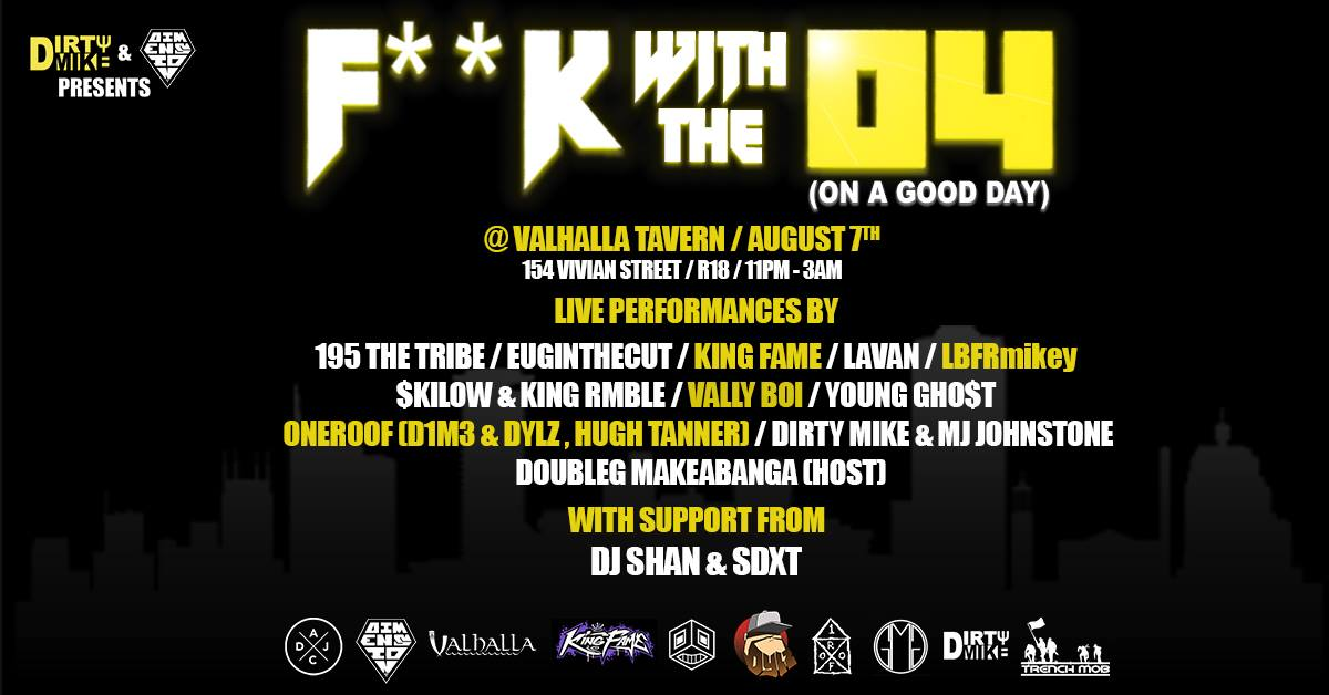 Dirty Mike And D1m3 Present: F.w.t.04