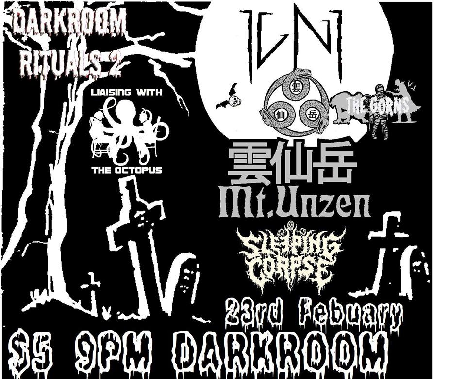 Igni, Mt Unzen, LWTO, Sleepy Corpse & Gorms