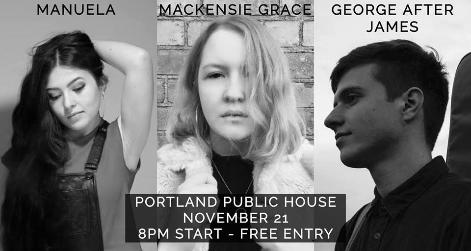 Mackensie Grace, George After James, Manuela