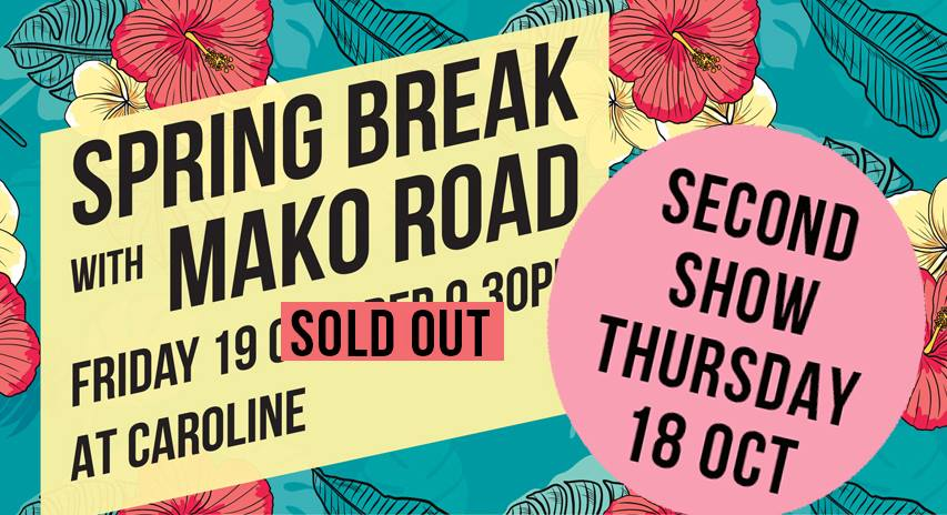 Mako Road - SOLD OUT