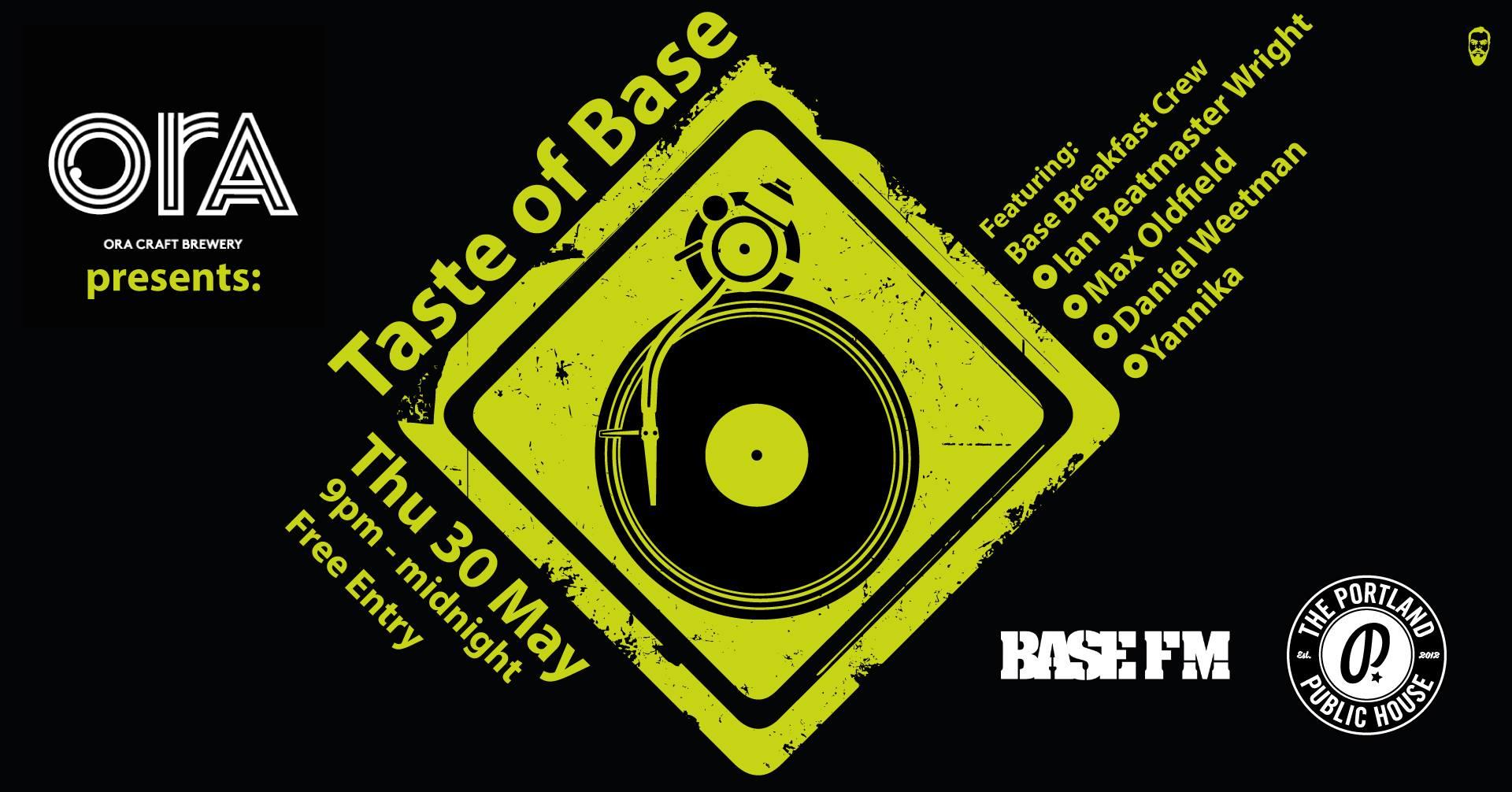 Taste of BASE - Ian Beatmaster Wright, Max Oldfield, Yannika Tavai