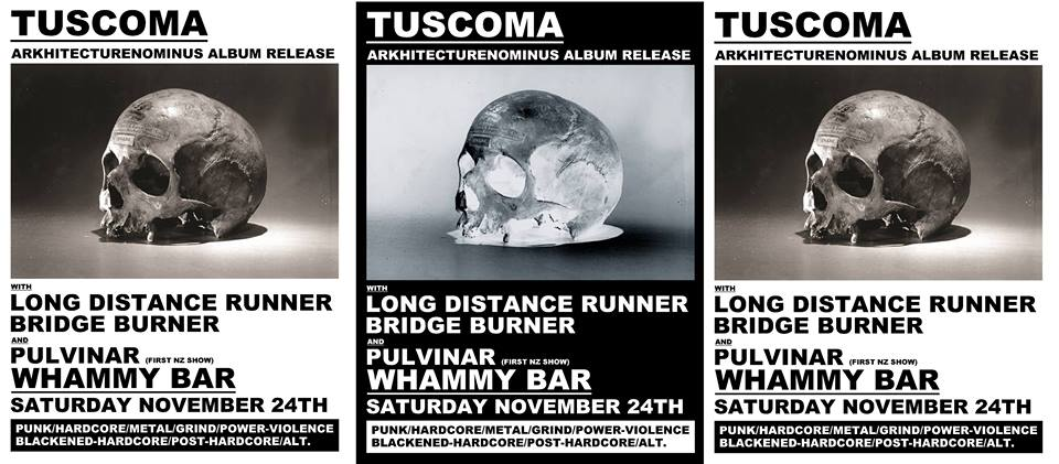 Tuscoma, Long Distance Runner, Bridge Burner, Pulvinar