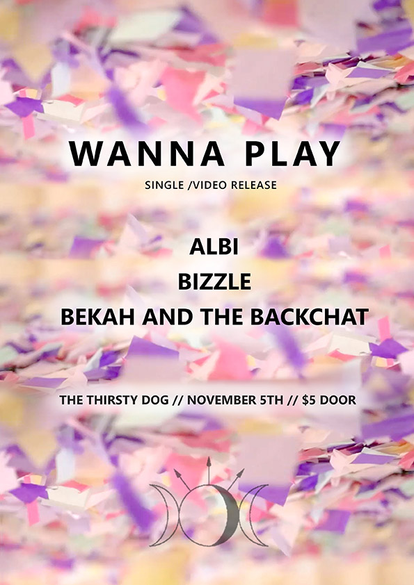 Bekah And The Backchat - Wanna Play Single Music Video Release