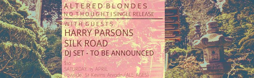 Altered Blondes - No Thought Single Release Party