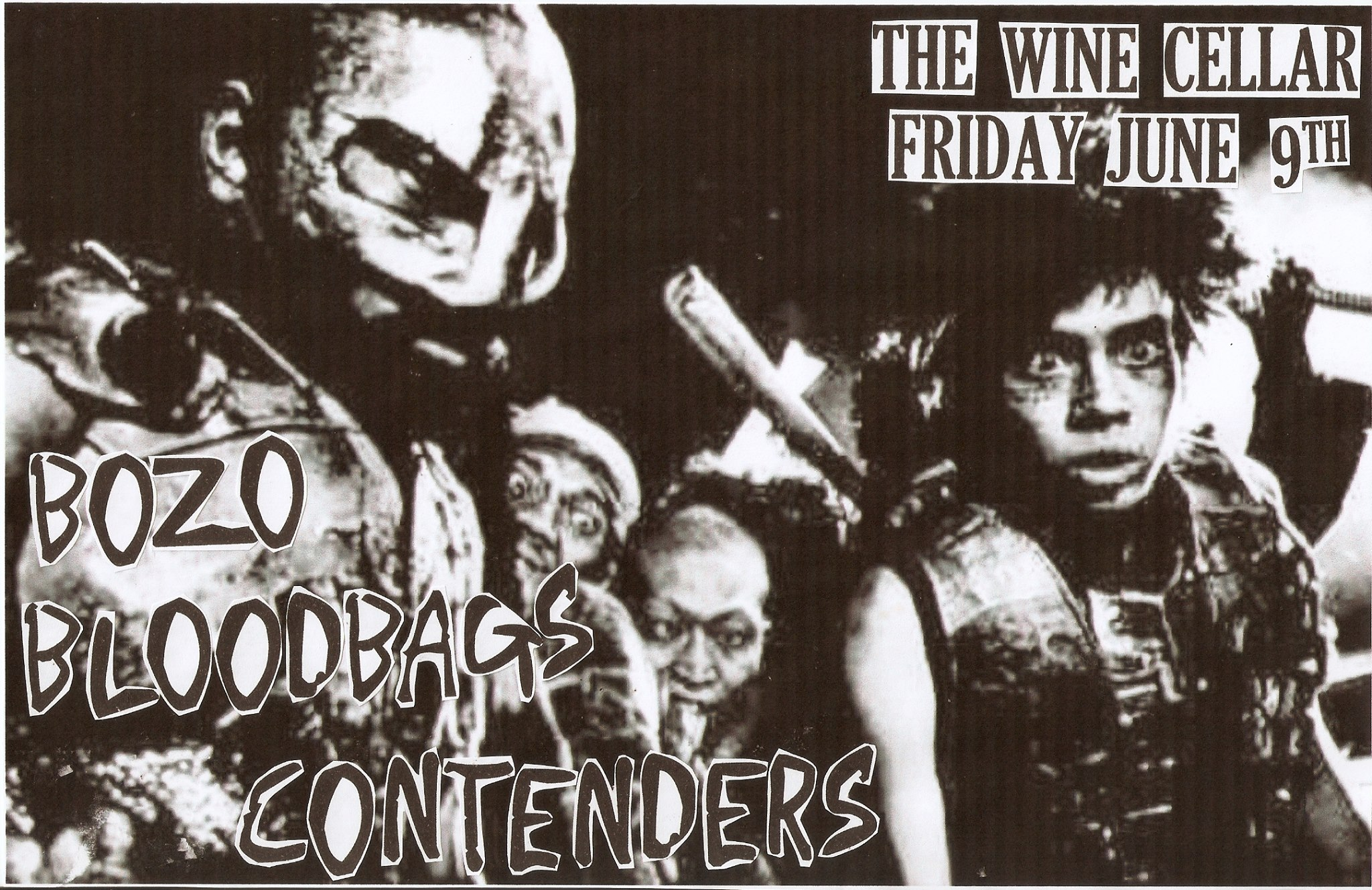 Bozo, Bloodbags and Contenders