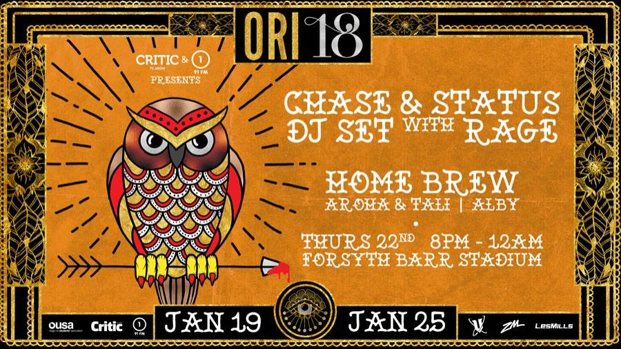 Chase and Status [DJ Set] w/ Rage, Homebrew, Aroha, Tali