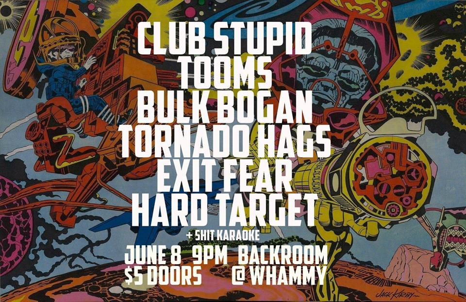 Club Stupid, Tooms, Bulk Bogan + More