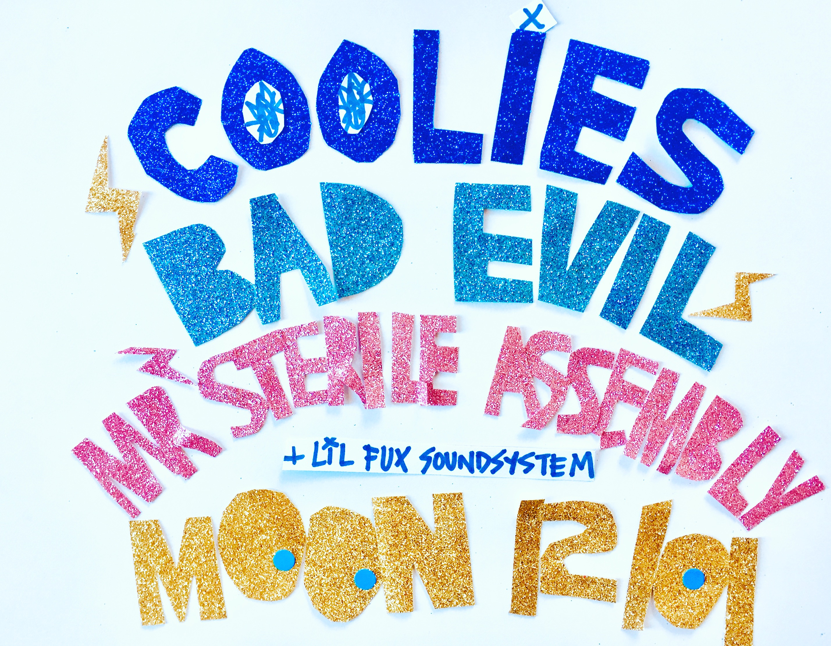 Coolies, Bad Evil, Mr Sterile Assembly