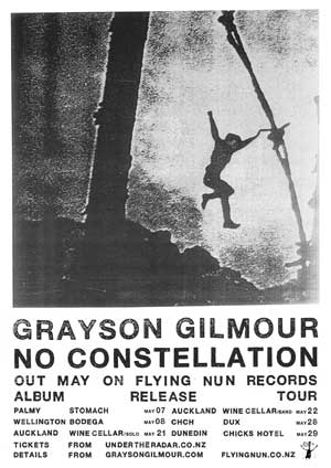 Grayson Gilmour release poster