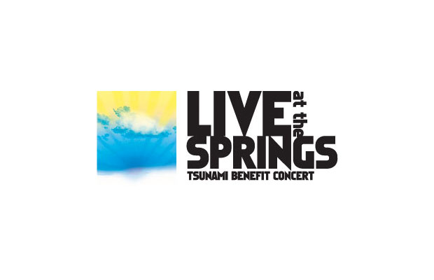 Live At The Springs - Tsunami Benefit Concert
