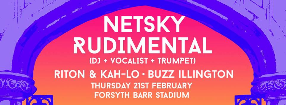 Netsky, Rudimental, Riton & Kah-Lo and Buzz Illington