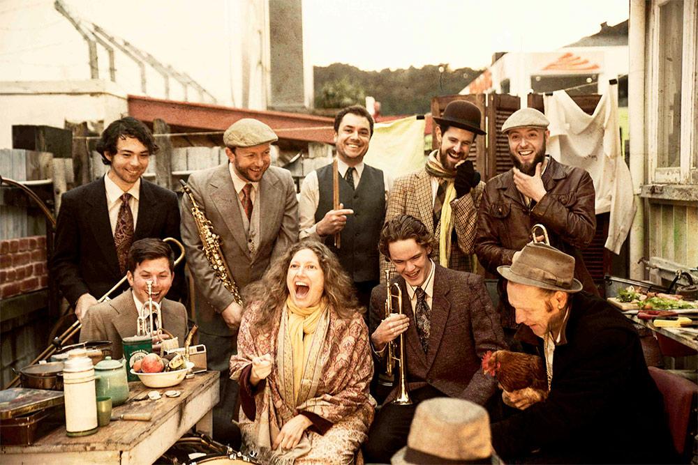 Niko Ne Zna: NZ's 9 Piece Balkan Brass Extravaganza