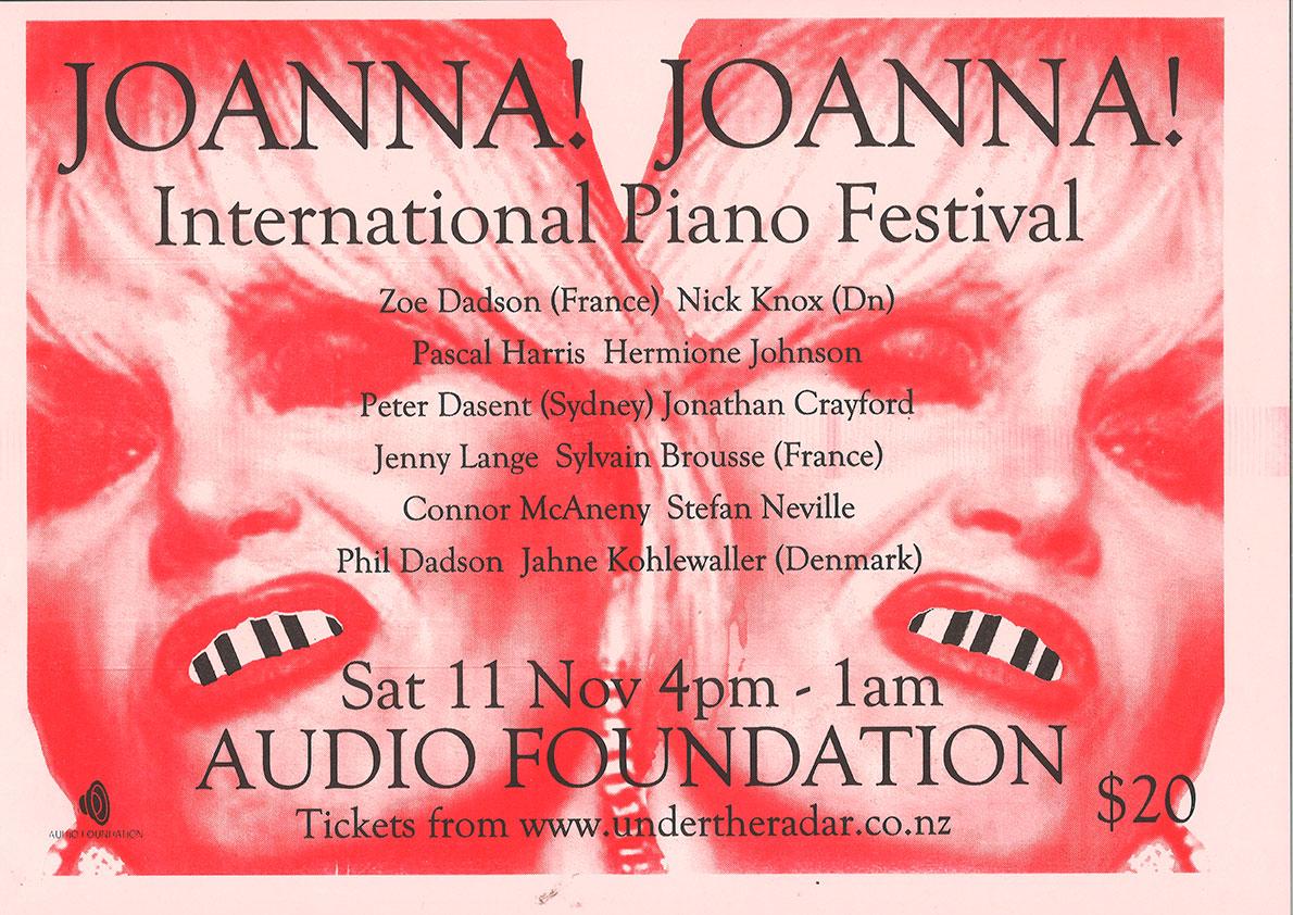 Joanna! Joanna! - International Piano Festival