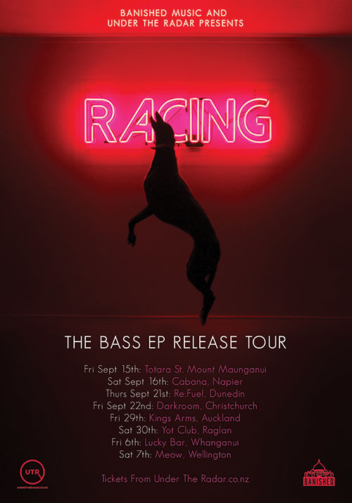 Racing - The Bass EP Release Tour