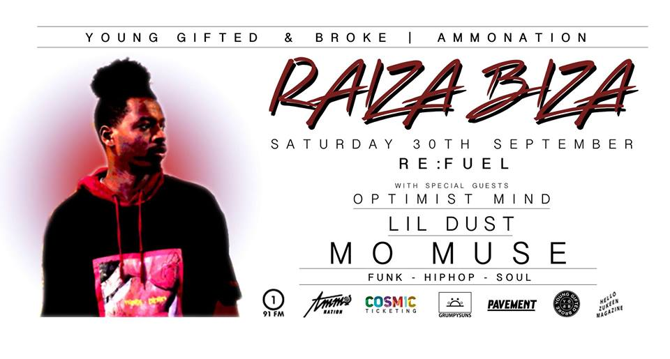 Raiza Biza, Optimist Mind, Lil Dust, Mo Muse