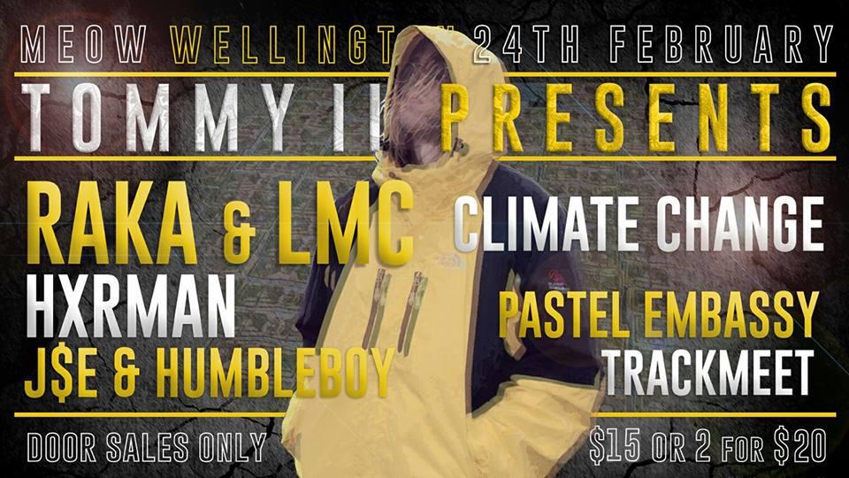 LMC, Raka, Hxrman, Pastel Embassy