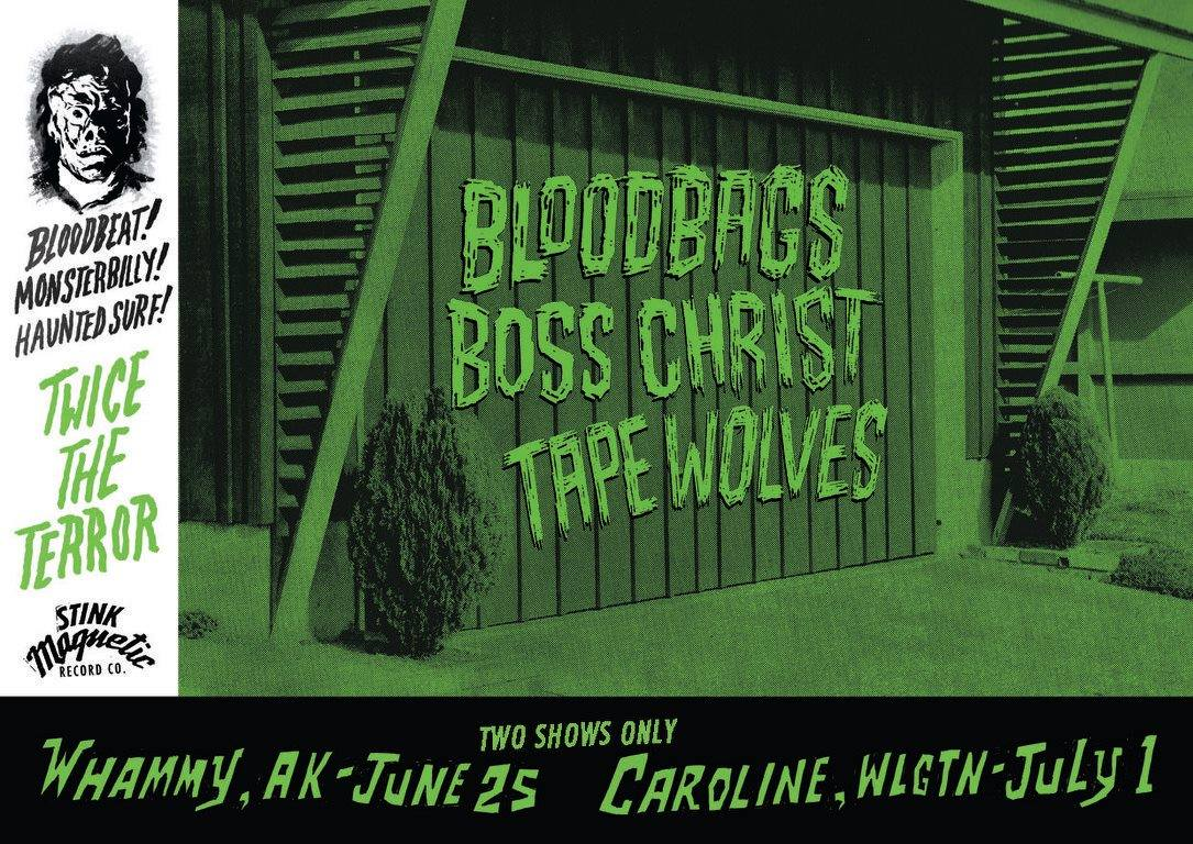 Bloodbags, Boss Christ, and Tape Wolves!!